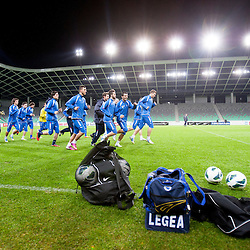 20130205: SLO, Football - Practice session of Team BiH 1 day before Friendly match against Slovenia