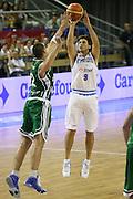 DESCRIZIONE : Alicante Spagna Spain Eurobasket Men 2007 Italia Slovenia Italy Slovenia <br /> GIOCATORE : Marco Mordente <br /> SQUADRA : Nazionale Italia Uomini Italy <br /> EVENTO : Eurobasket Men 2007 Campionati Europei Uomini 2007 <br /> GARA : Italia Slovenia Italy Slovenia <br /> DATA : 03/09/2007 <br /> CATEGORIA : Tiro <br /> SPORT : Pallacanestro <br /> AUTORE : Ciamillo&amp;Castoria/G.Ciamillo <br /> Galleria : Eurobasket Men 2007 <br /> Fotonotizia : Alicante Spagna Spain Eurobasket Men 2007 Italia Slovenia Italy Slovenia <br /> Predefinita :