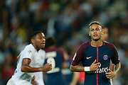 Paris Saint Germain's Brazilian forward Neymar Jr runs during the French championship L1 football match between Paris Saint-Germain (PSG) and Saint-Etienne (ASSE), on August 25, 2017 at the Parc des Princes in Paris, France - Photo Benjamin Cremel / ProSportsImages / DPPI