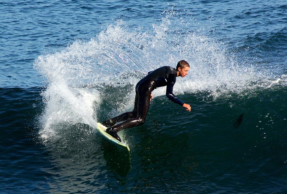 Surfer, Santa Cruz, California, United States of America