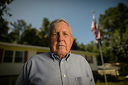 6/14/13 3:45:43 PM -- Cleveland, TN, U.S.A  --Bill Norwood is a Korean War veteran and president of the Korean War Assn. of ex-POWs. Photographed at his home in Cleveland, TN.  --    Photo by Michael  A. Schwarz,