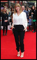 Image licensed to i-Images Picture Agency. 13/07/2014. London, United Kingdom.  Kate Garraway at the World premiere of Pudsey The Dog : The Movie in London.  Picture by Stephen Lock / i-Images