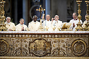 01/01/2015 Vatican City, Pope Francis leads a mass at St Peter's Basilica