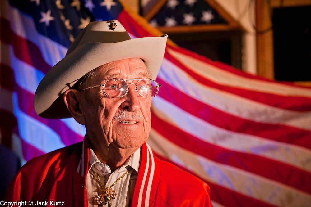 27 OCTOBER 2011 - GILBERT, AZ: Peter M. Curtin (CQ) at the American Legion Hall in Gilbert, AZ, Thursday, Oct. 27.   PHOTO BY JACK KURTZ