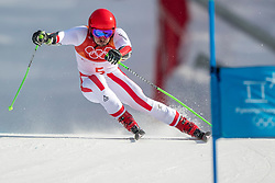 18-02-2018 KOR: Olympic Games day 9, Pyeongchang<br /> Alpine Skiing Men's Giant Slalom at Yongpyong Alpine Centre / Marcel Hirscher of Austria pakt de gouden medaille