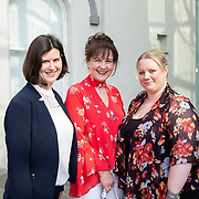 11.05. 2017.                                                 <br /> Over 20 leading Irish and international fashion media and influencers converged on Limerick for 24 hours on, Thursday, 11th May for a showcase of Limerick's fashion industry, culminating with Limerick School of Art & Design, LIT, presenting the LSAD 360° Fashion Show, sponsored by AIB.<br /> Pictured at the event were, Siobhan Grace, LIT, Concellia Pearse, LIT and Jackie Leddin, LIT. Picture: Alan Place