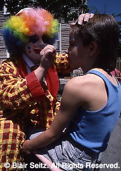 Marietta Day (PA) celebrations, face painting