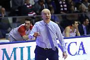 Massimiliano Max Menetti<br /> Grissin Bon Reggio Emilia - Openjobmetis Pallacanestro Varese<br /> LegaBasket Serie A 2017/2018<br /> Reggio Emilia, 16/12/2017<br /> Foto Ciamillo-Castoria