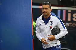Pedro of Chelsea arrives at Selhurst Park - Mandatory by-line: Jason Brown/JMP - 14/10/2017 - FOOTBALL - Selhurst Park - London, England - Crystal Palace v Chelsea - Premier League