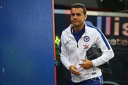 Pedro of Chelsea arrives at Selhurst Park - Mandatory by-line: Jason Brown/JMP - 14/10/2017 - FOOTBALL - Selhurst Park - London, England - Crystal Palace v Chelsea - Premier League