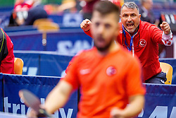 OZTURK Ali HEAD COACH during day 3 of 15th EPINT tournament - European Table Tennis Championships for the Disabled 2017, at Arena Tri Lilije, Lasko, Slovenia, on September 30, 2017. Photo by Ziga Zupan / Sportida