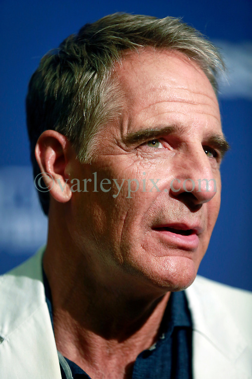 """17 September 2014. New Orleans, Louisiana.<br /> NCIS New Orleans. CBS Red carpet event at the WW2 Museum.<br /> Actor Scott Bakula - """"Dwayne Pride.""""<br /> Photo Credit; Charlie Varley/varleypix.com"""