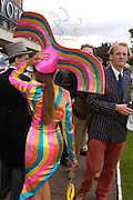 Tracy Rose. Royal Ascot Race meeting Ascot at York. Tuesday 14 June 2005. ONE TIME USE ONLY - DO NOT ARCHIVE  © Copyright Photograph by Dafydd Jones 66 Stockwell Park Rd. London SW9 0DA Tel 020 7733 0108 www.dafjones.com
