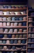 Biella, Italy, BARBISIO, handmade hat manufacture.