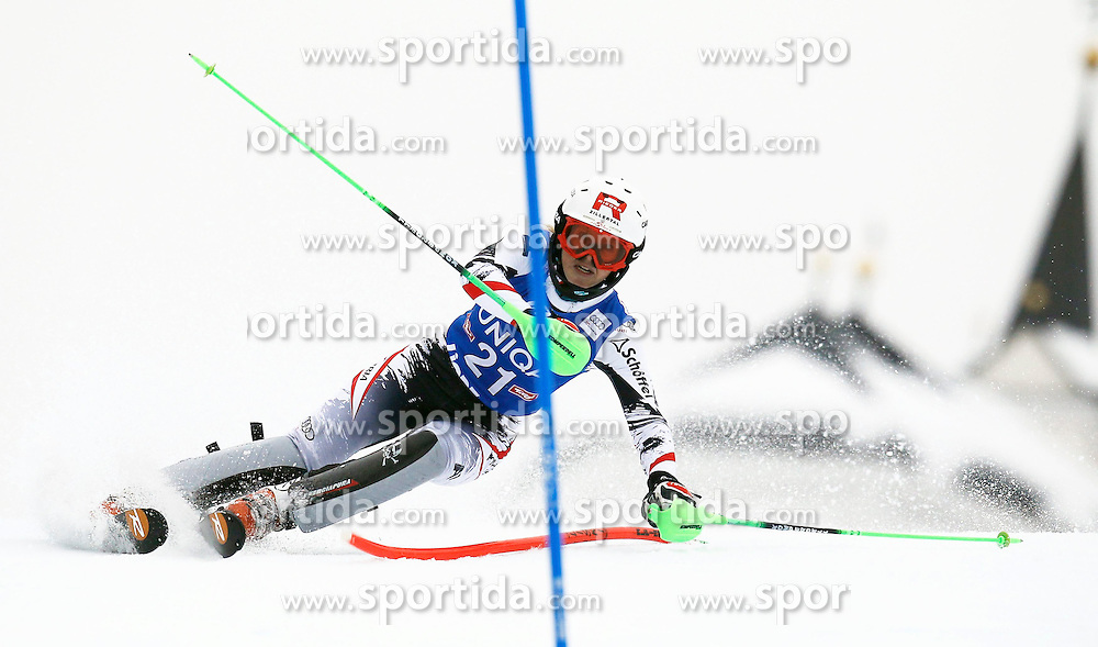 29.12.2013, Hochstein, Lienz, AUT, FIS Weltcup Ski Alpin, Damen, Slalom 2. Durchgang, im Bild Alexandra Daum (AUT) // Alexandra Daum of (AUT) during ladies Slalom 2nd run of FIS Ski Alpine Worldcup at Hochstein in Lienz, Austria on 2013/12/29. EXPA Pictures © 2013, PhotoCredit: EXPA/ Oskar Höher