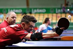 DAVIES Robert and DAVIES Paul of Great Britain at 14th Slovenia Open - Thermana Lasko 2017 Table Tennis Championships for the Disabled Factor 1, on May 9, 2017, in Dvorana Tri Lilije, Lasko, Slovenia. Photo by Matic Klansek Velej / Sportida