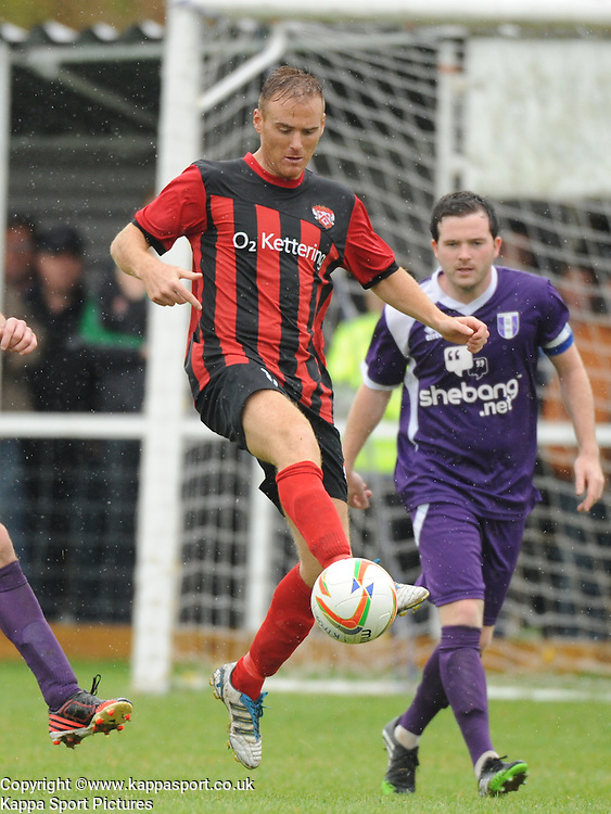 Brett Solkhon, Kettering, Kettering Town v Daventry Town Southern League Division One Central, 25th August 2014