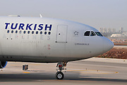Israel, Ben-Gurion international Airport Turkish Airlines Airbus A330-202