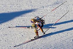 Miriam Goessner (GER) during Women 12.5 km Mass Start at day 4 of IBU Biathlon World Cup 2015/16 Pokljuka, on December 20, 2015 in Rudno polje, Pokljuka, Slovenia. Photo by Urban Urbanc / Sportida