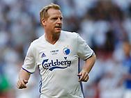 FODBOLD: Martin Johansen under showkampen efter FC Københavns guldfest den 28. maj 2017 i Telia Parken, København. Foto: Claus Birch