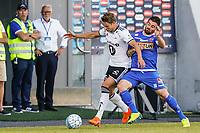 Fotball , 1. juli 2018 , Eliteserien<br /> Sandefjord - Rosenborg<br /> Pau Morer Vicente, Sandefjord<br /> Foto: Christoffer Hansen , Digitalsport
