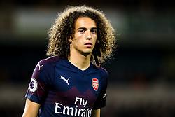 Matteo Guendouzi of Arsenal - Mandatory by-line: Robbie Stephenson/JMP - 24/04/2019 - FOOTBALL - Molineux - Wolverhampton, England - Wolverhampton Wanderers v Arsenal - Premier League