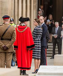 The Duke and Duchess of Cambridge attend the Manchester Cenotaph memorial service for Manchester's six Victoria Cross recipients  <br /> <br /> (c) John Baguley | Edinburgh Elite media