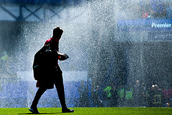 Manchester United coach Michael Carrick - Mandatory by-line: Robbie Stephenson/JMP - 21/04/2019 - FOOTBALL - Goodison Park - Liverpool, England - Everton v Manchester United - Premier League
