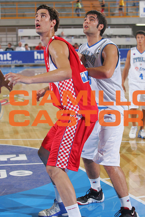 DESCRIZIONE : Gorizia U20 European Championship Men Qualifying Round Italy Croatia <br /> GIOCATORE : Bruttini <br /> SQUADRA : Italy <br /> EVENTO : Gorizia U20 European Championship Men Qualifying Round Italy Croatia Campionato Europeo Maschile Under 20 Qualificazioni Italia Croazia <br /> GARA : Italy Croatia <br /> DATA : 10/07/2007 <br /> CATEGORIA : Rimbalzo <br /> SPORT : Pallacanestro <br /> AUTORE : Agenzia Ciamillo-Castoria/S.Silvestri <br /> Galleria : Europeo Under 20 <br /> Fotonotizia : Gorizia U20 European Championship Men Qualifying Round Italy Croatia <br /> Predefinita :