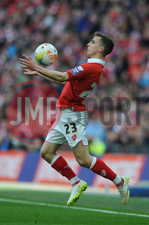 Bristol City's Joe Bryan - Photo mandatory by-line: Dougie Allward/JMP - Mobile: 07966 386802 - 22/03/2015 - SPORT - Football - London - Wembley Stadium - Bristol City v Walsall - Johnstone Paint Trophy Final
