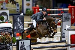 WERNKE Jan (GER), Nashville HR<br /> Grand Prix von Volkswagen<br /> Int. jumping competition over two rounds (1.55 m) - CSI3*<br /> Comp. counts for the LONGINES Rankings<br /> Braunschweig - Classico 2020<br /> 08. März 2020<br /> © www.sportfotos-lafrentz.de/Stefan Lafrentz