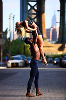 Dance As Art Photography Project- Dumbo Brooklyn, New York with dancer,