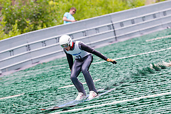 Taavi Pappel from Estonia during Ski Jumping Continental Cup Kranj 2018, on July 8, 2018 in Kranj, Slovenia. Photo by Urban Urbanc / Sportida