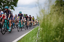 Hannah Payton (GBR) and Tiffany Cromwell (AUS) at Lotto Thuringen Ladies Tour 2018 - Stage 2, an 136 km road race starting and finishing in Meiningen, Germany on May 29, 2018. Photo by Sean Robinson/Velofocus.com
