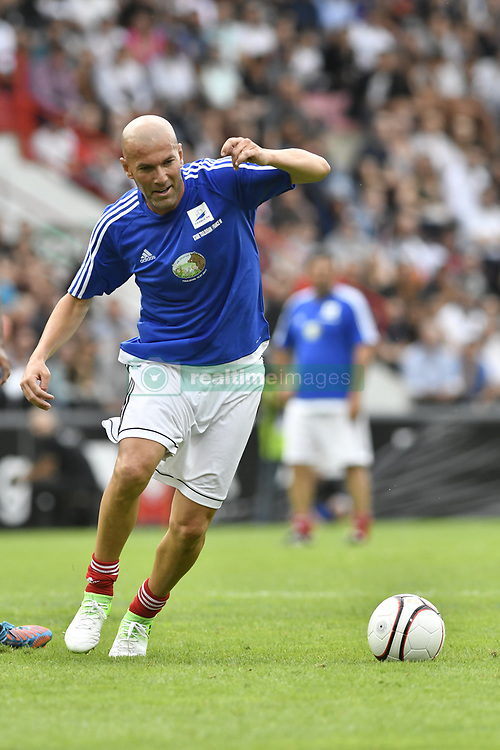 Zinedine Zidane during the France 98 V Stade Toulousain match at the Ernest Wallon stadium in Toulouse, France, on July 10, 2017. Photo by Pascal Rondeau/ABACAPRESS.COM