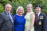 Peter Pearce, Jane Pearce, Kirsty Townsend &amp; Steve Townsend.<br /> <br /> 74th Anniversary of the Dieppe Raid (19 August 1942) Memorial Service held at Newhaven Fort and the Canadian War Memorial. Attended by Veterans, dignitaries and guests. Organised by Canadian Veterans Association (Brighton Branch) and Newhaven Council.