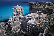 Limestone quarry, Favignana Island, Egadi Islands, Sicily, Italy