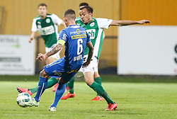 15.05.2015, Sportplatz FAC, Wien, AUT, 2. FBL, Floridsdorfer AC vs SV Mattersburg, 34. Runde, im Bild Andreas Bauer (Floridsorfer AC) und Manuel Prietl (SV Mattersburg) // during Austrian Football Second Bundesliga Match, 34th round, between Floridsdorfer AC and SV Mattersburg at the Sportplatz FAC, Vienna, Austria on 2015/05/15. EXPA Pictures © 2015, PhotoCredit: EXPA/ Alexander Forst