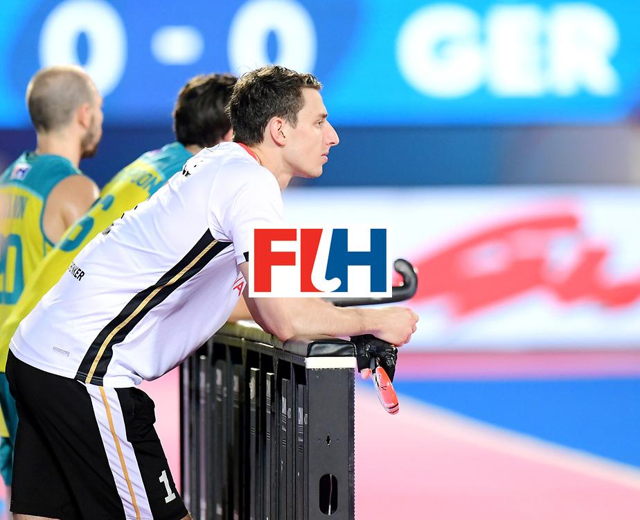 Odisha Men's Hockey World League Final Bhubaneswar 2017<br /> Match id:20<br /> Australia v Germany<br /> Foto: keeper Mark Appel (Ger)  <br /> COPYRIGHT WORLDSPORTPICS FRANK UIJLENBROEK