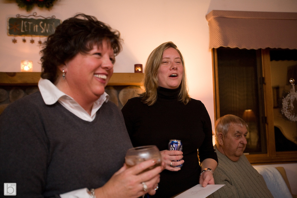 Wedding Celebration of Mary McKillip and Mike Roberson in Lake Placid, January 2007.