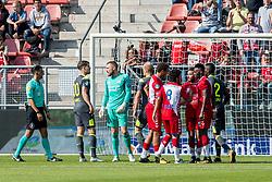 24-09-2017 NED: FC Utrecht - PSV, Utrecht<br /> Penalty voor Utrecht, Jeroen Zoet #1 of PSV is er niet mee eens