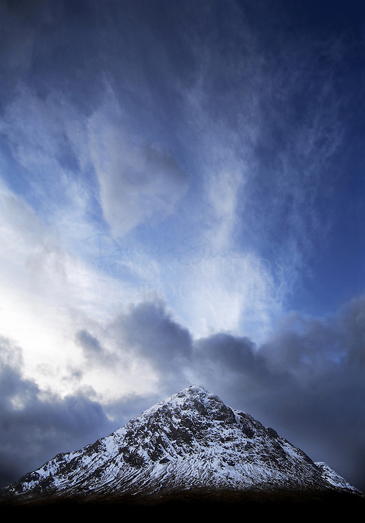 Buachaille Etive Mòr, The great herdsman of Etive, Rannoch moor