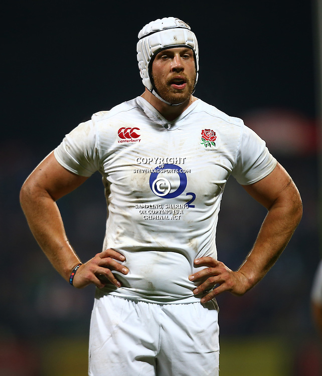 "George, SOUTH AFRICA, 17,June, 2016 - Dave Attwood of the England Saxons during the South Africa ""A"" v England Saxons - 2nd match,Outeniqua Park in George,Southern Cape  South Africa (Photo by Steve Haag) - Images for Getty Images  - England Saxons."