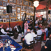 Caffe Trieste; North Beach; San Francisco, CA; Live Music At Weekly Saturday Afternoon Giotta Family Concert