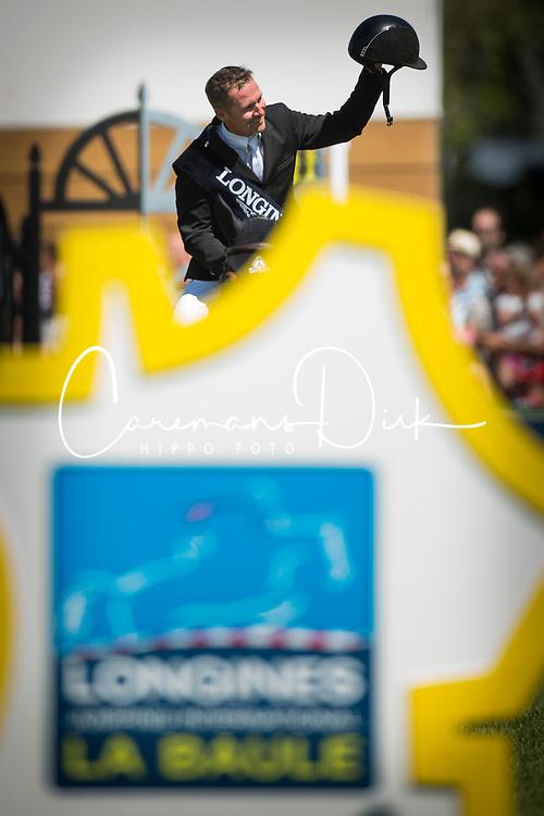 Lamaze Eric (CAN) - Powerplay<br /> Winner of the Grand Prix Longines de la Ville de La Baule<br /> Longines Jumping International La Baule 2014<br /> © Hippo Foto - Dirk Caremans