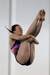 Rebecca Gallantree of City of Leeds Diving Club competes in the Womens 3m Springboard Final - Photo mandatory by-line: Rogan Thomson/JMP - 07966 386802 - 22/02/2015 - SPORT - DIVING - Plymouth Life Centre, England - Day 3 - British Gas Diving Championships 2015.
