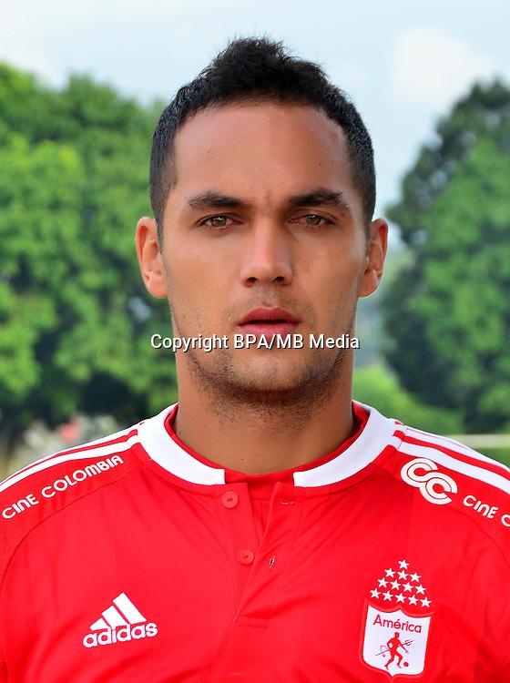 Colombia League - Liga Aguila 2016-2017 / <br /> Corporacion Deportivo America Cali - Colombia - <br /> Jonathan Esteban Alvarez Isaza