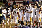 DESCRIZIONE : Campionato 2014/15 Virtus Acea Roma - Umana Reyer Venezia<br /> GIOCATORE : Virtus Acea Roma Team<br /> CATEGORIA : Ritratto Delusione<br /> SQUADRA : Virtus Acea Roma<br /> EVENTO : LegaBasket Serie A Beko 2014/2015<br /> GARA : Virtus Acea Roma - Umana Reyer Venezia<br /> DATA : 01/02/2015<br /> SPORT : Pallacanestro <br /> AUTORE : Agenzia Ciamillo-Castoria/GiulioCiamillo<br /> Predefinita :