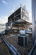 GENERATOR ROOM: ROOF: LOOKING SE @ COOLING TOWER