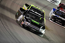 March 1, 2019 - Las Vegas, Nevada, U.S. - LAS VEGAS, NV - MARCH 01: Jesse Little (97) JJL Motorsports Ford F-150 racing during the Gander Outdoors Truck Series Strat 200 race on March 1, 2019, at Las Vegas Motor Speedway in Las Vegas, NV. (Photo by David Allio/Icon Sportswire) (Credit Image: © David Allio/Icon SMI via ZUMA Press)